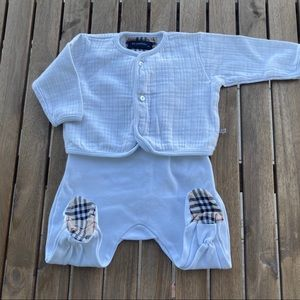 Rompers Babygrow romper 0 / 3 months Burberry